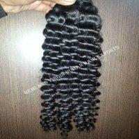 Human Hair Curly Weave Bundles