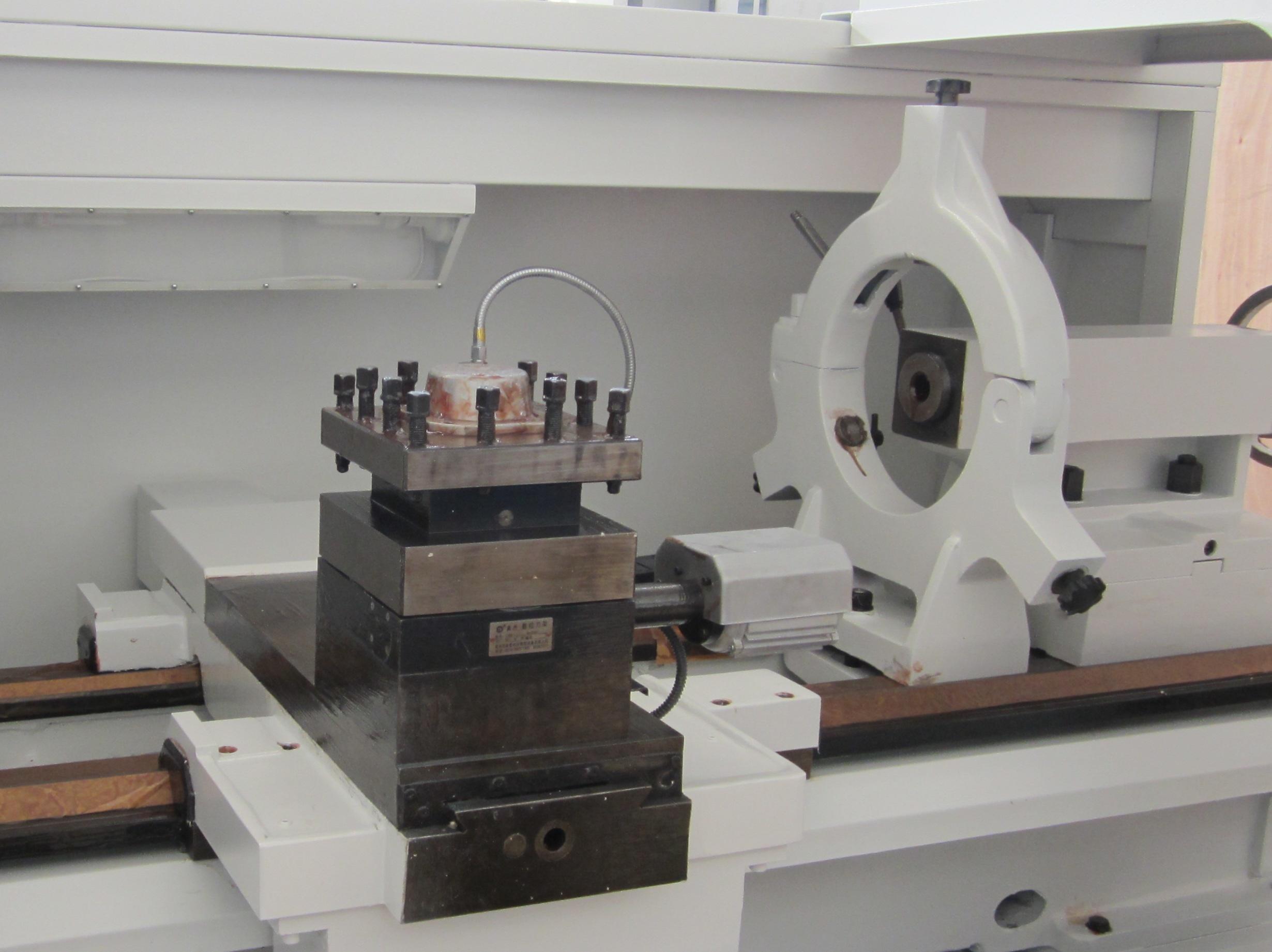Professional Dia Of Pipe 190mm Pipe Threading Lathe QK1219