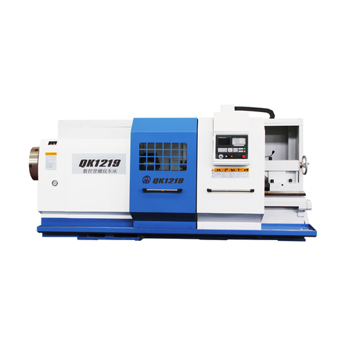 QK1219 Horizontal Pipe Threading cnc Lathe For Metal Cutting
