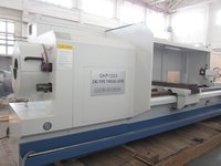 QKP1223 horizontal pipe threading turinng lathe spindle bore 240mm Fanuc system