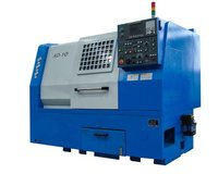 High precision slant bed lathe machine for metal cutting