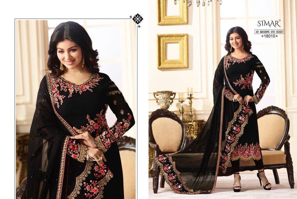 Designer Embroidered Ladies Suits