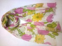 Floral Print Women Scarf