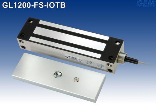 Weatherproof Magnetic Gate Locks : GL1200-FS-IOTB