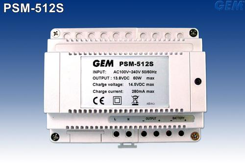 Din Rail Mount Power Supply : PSM-512S