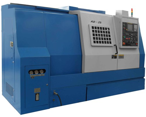 Easy operation cnc lathe slant bed for metal working