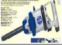 Inline Impact  Wrench 1""