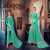 Ladies Sharara Suit Shopping Online
