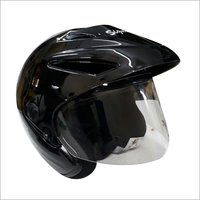 Open Face Helmet With Sunpeak
