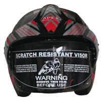 Graphics Half Face Helmet