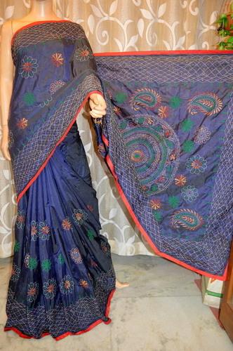 Semi Silk Kantha