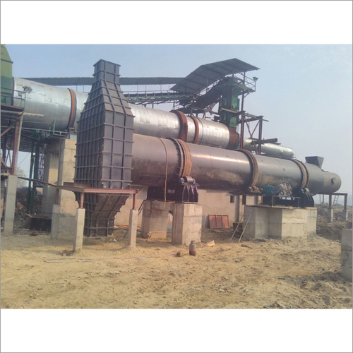 Rotary Dryer For Waste Management