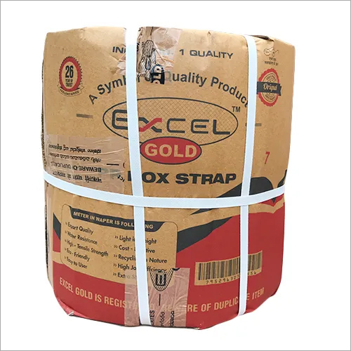 Excel Gold Round Packing Box Strapping Rolls