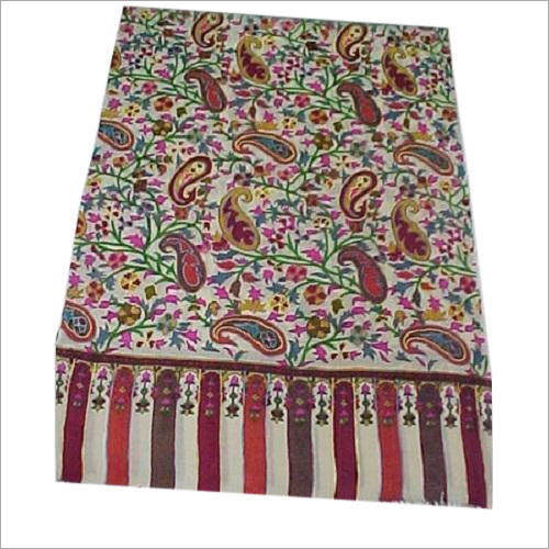 Embroidered Kani Shawl
