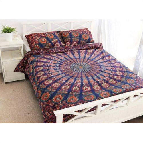 Mandala Designed Bed Sheet