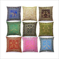 Banarsi Silk Cushion Cover