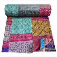 Indian Handmade Silk Quilt