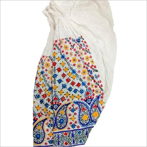Hand Embroidered Phulkari Salwar