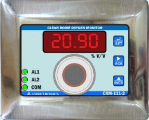 Clean Room Oxygen Monitor