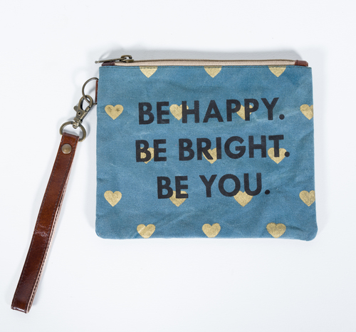canvas pouch be your own kind