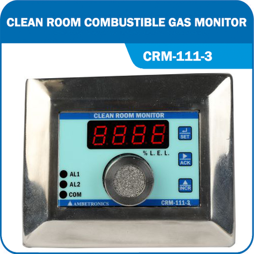 Clean Room Combustible Gas Monitor.