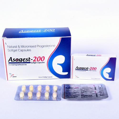 Natural Progestron 200 mg SoftGel Capsule