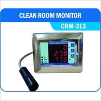 Clean Room Temperature/ Relative Humidity/ Differential Pressure Monitor
