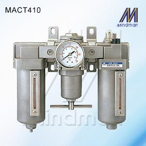 Air units (F.R.L.Unit) Stainless Steel Type Model: MACT410