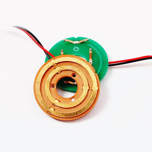 2 Circuits Pancake Slip Ring