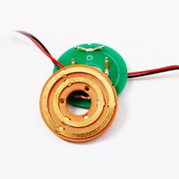 2 Circuits Pancake Slip Ring