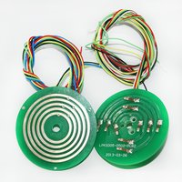 5 Circuits Pancake Slip Ring