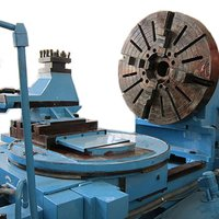 100 mm Spindle Hole steel Ball Lathe Machine