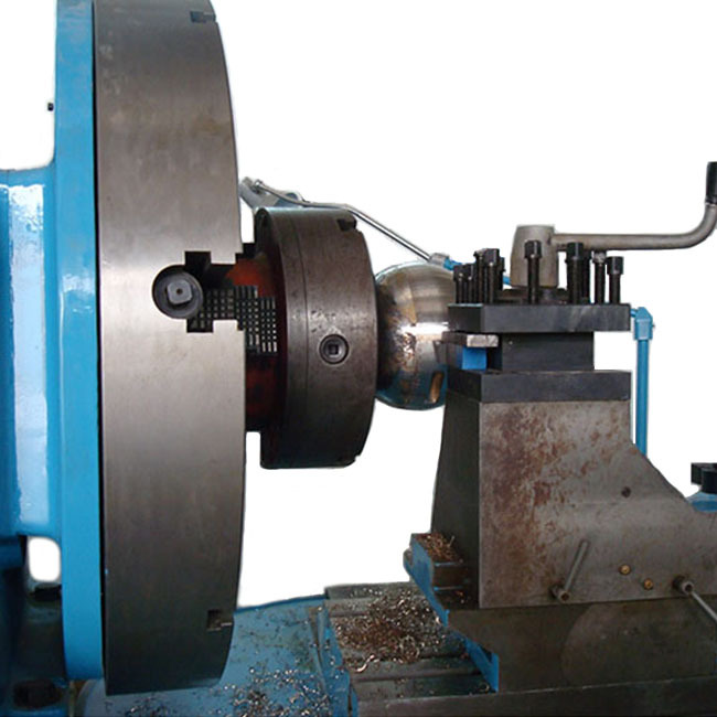 Professional horizontal lathe spherical for ball surface