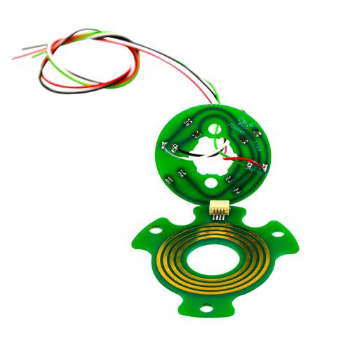4 Circuits Pancake Slip Ring