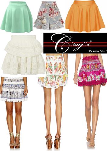 Export Brand Ladies Skirt