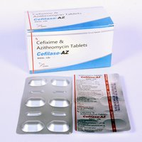 Cefixime 200mg + Azithromycin 250 mg  Tablet