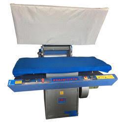 Flat press bed