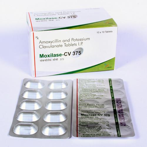 Amoxycillin250mg + Potassium Clavulanate 125mg Tablet