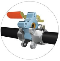 L&T Make 3 Piece Design Ball Valve