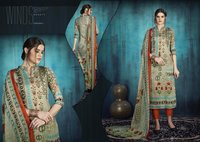 Cotton Ladies Printed Suit Materials