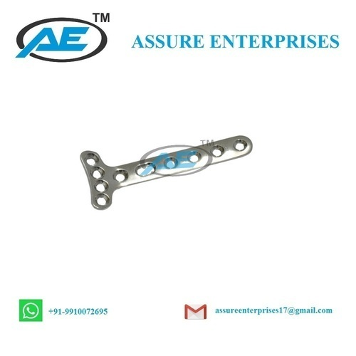 Assure Enterprise Small T-Plate,Right Angled With 4 Head Holes