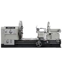 White large Engine Lathe heavy duty lathe machine with max.weight of workpiece 32t
