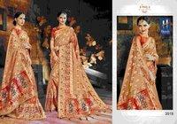 Cotton Batik Print Sarees