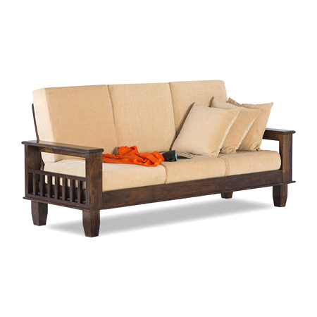Sheesham Wood Sofa Set