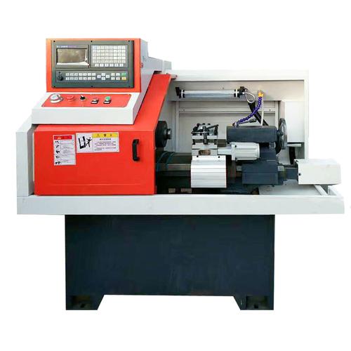 Horizontal cnc mini lathe for fire valve