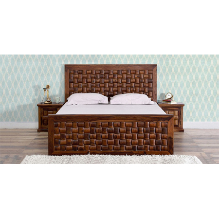 Glen Storage King Size Bed