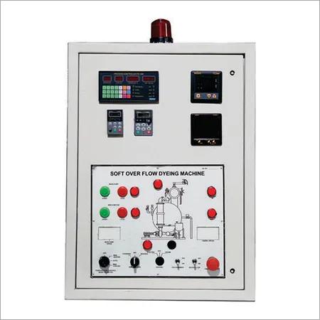 Fabric Dyeing Machine Control Panel