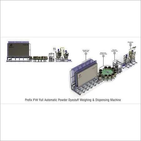 Full Automatic Powder Dyestuff Weighing & Dispensing Machine
