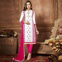 Glaze Cotton Unstitched Salwar Suit