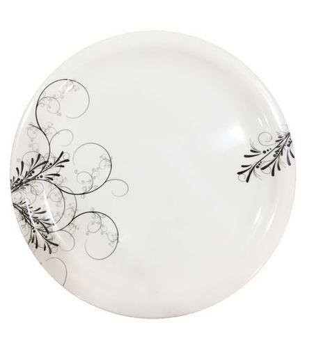 Round Melamine Printed Plate